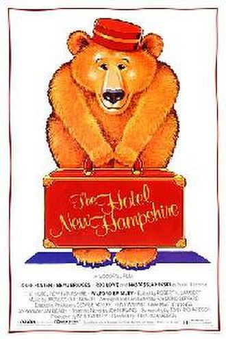 The Hotel New Hampshire (film) - Theatrical release poster