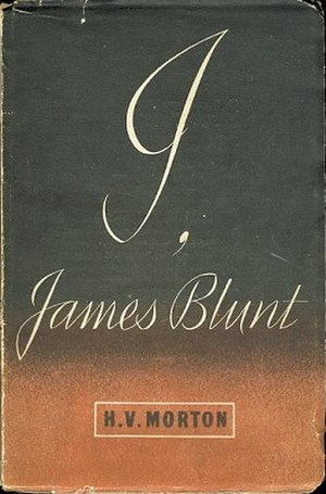 I, James Blunt - Image: I, James Blunt by HV Morton book cover