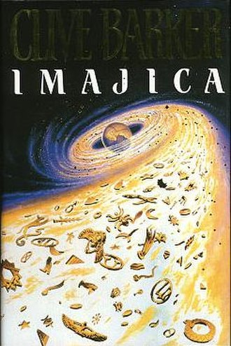 Imajica - First UK edition cover, still in use for current paperback.