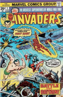 Invaders (comics) Comic book series
