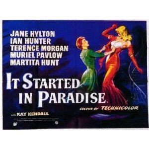 It Started in Paradise - Promotional poster