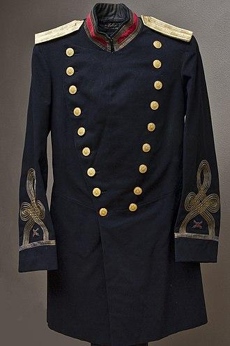 John Wilson Ruckman - Ruckman's Coast Artillery Uniform