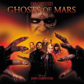 Ghosts of Mars - Image: John Carpenter Ghosts of Mars soundtrack
