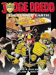 Image result for cursed earth judge dredd