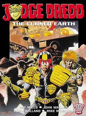The Cursed Earth (Judge Dredd story) - Image: Judge Dredd Cursed Earth
