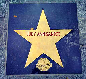 Judy Ann Santos - Santos' star in the Philippines Walk of Fame.