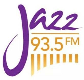 KCME - Image: KCME HD2 Jazz 93.5 FM logo