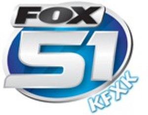 KFXK-TV - Former KFXK logo, used until 2008.