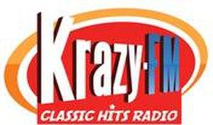 KRCY-FM - Image: KRCY Krazy FM96.7 logo