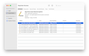 Keychain (software)