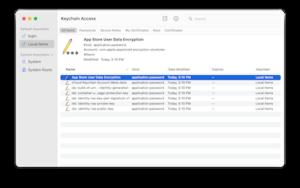 Keychain (software) - Image: Keychainaccess