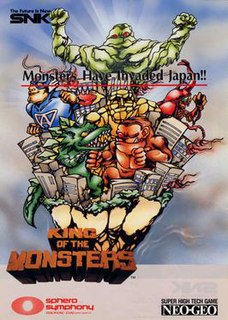 <i>King of the Monsters</i> (video game) video game series
