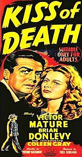 <i>Kiss of Death</i> (1947 film) 1947 film by Henry Hathaway