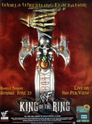 King of the Ring (2000) - Promotional poster
