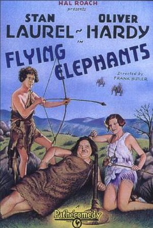 Flying Elephants - Theatrical release poster