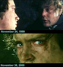 principal photography of the lord of the rings film series