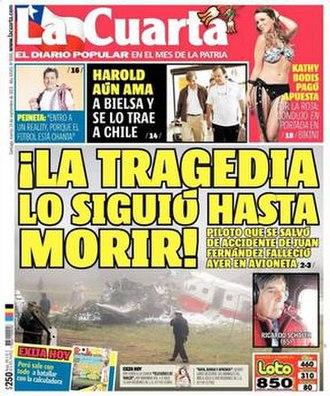La Cuarta - Image: La Cuarta (10 September 2013)