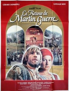 <i>The Return of Martin Guerre</i> 1983 film by Daniel Vigne
