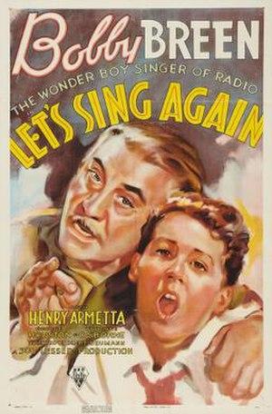 Let's Sing Again - Image: Let's Sing Again Film Poster