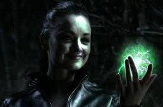Livewire (DC Comics) - Anna Mae Routledge as Livewire on Smallville