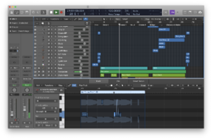 A screenshot of Logic Pro X