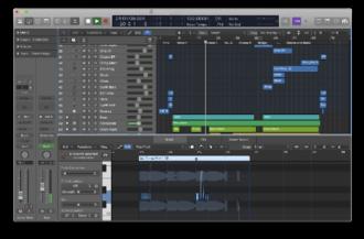 Logic Pro - Image: Logic Pro X screenshot