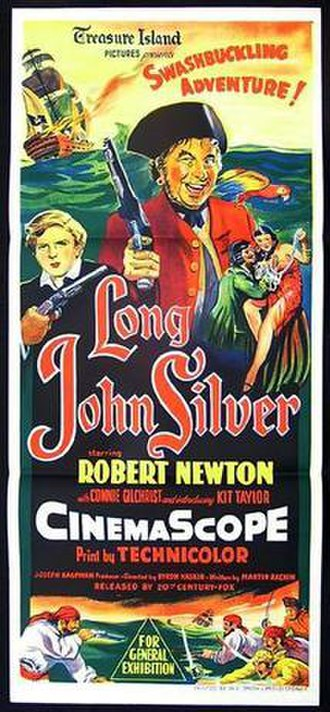 The Adventures of Long John Silver - Film poster