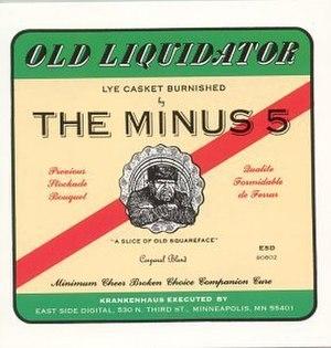 Old Liquidator - Image: M5oldliquidator