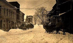 Chester (village), New York - Main Street, Chester, New York, March, 1914