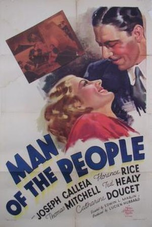 Man of the People (film) - Theatrical release poster