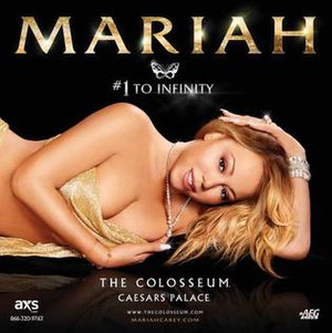 Number 1 to Infinity (concert residency) - Image: Mariah Carey 1 to Infinity