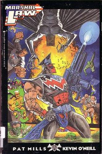 Marshal Law (comics) - Image: Martial Law