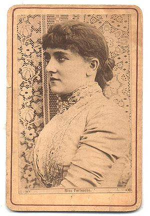 May Fortescue - May Fortescue in an 1886 Carte de visite