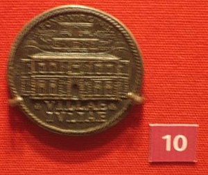 Villa Giulia - A 1935 medal at the British Museum.