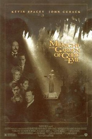 Midnight in the Garden of Good and Evil (film) - Theatrical release poster