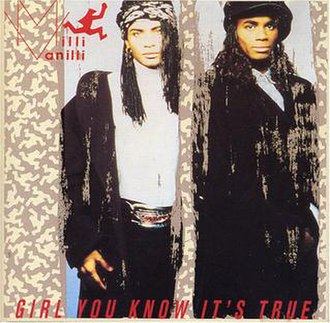 Girl You Know It's True - Image: Milli Vanilli Girl You Know It's True CD cover