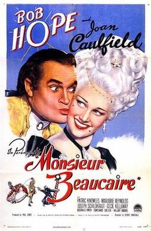 Monsieur Beaucaire (1946 film) - Image: Monsieur Beaucaire Poster