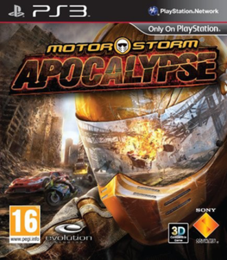 MotorStorm: Apocalypse - European box art