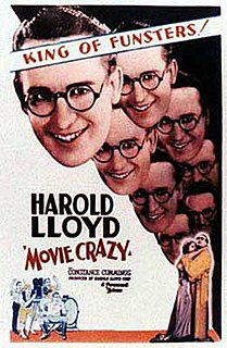 <i>Movie Crazy</i> 1932 film by Harold Lloyd, Clyde Bruckman