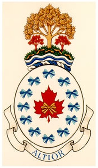 National Council of Women of Canada - Image: NCWC coat of arms