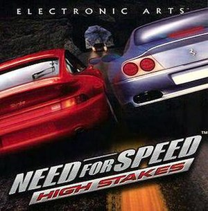 Need for Speed: High Stakes - Image: NFS High Stakes box