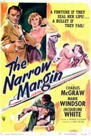 The Narrow Margin - Theatrical release poster