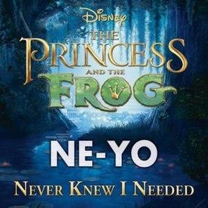Never Knew I Needed - Image: Ne Yo Never Knew I Needed