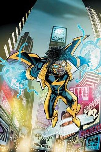 Static (DC Comics) - Image: New 52 Static