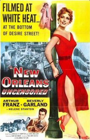 New Orleans Uncensored - Theatrical release poster