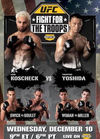 UFC: Fight for the Troops - Image: Newtroopsfight