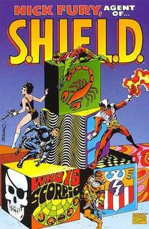 Scorpio (comics) - Image: Nick Fury Scorpio TPB