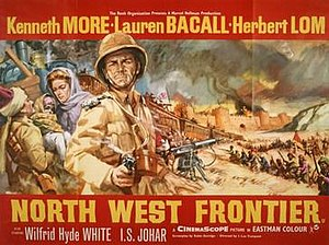 North West Frontier (film) - UK quad theatrical release poster