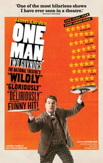 <i>One Man, Two Guvnors</i> Play by Richard Bean, first performed in 2011