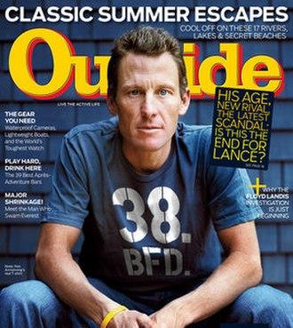 Outside (magazine) - Image: Outside (magazine cover)